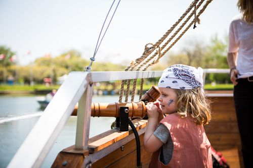Pirate Life at Centre Island...