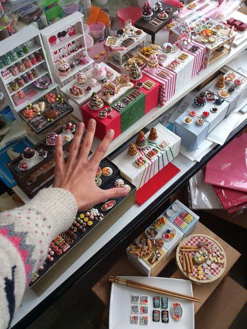 Many Miniature Cakes :) by Stephanie Kilgast of PetitPlat