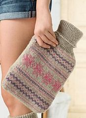 Ravelry: 22 - Hot Water Bottle Cover pattern by Bergère de France