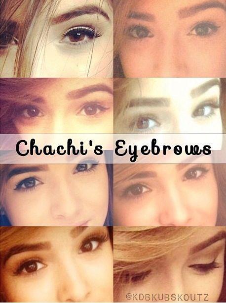 Chachi Gonzales' eyebrow :)