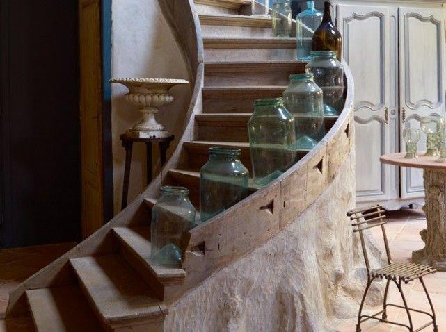 21 best Escaliers bois images on Pinterest Banisters, Stairs and - fabriquer escalier exterieur bois