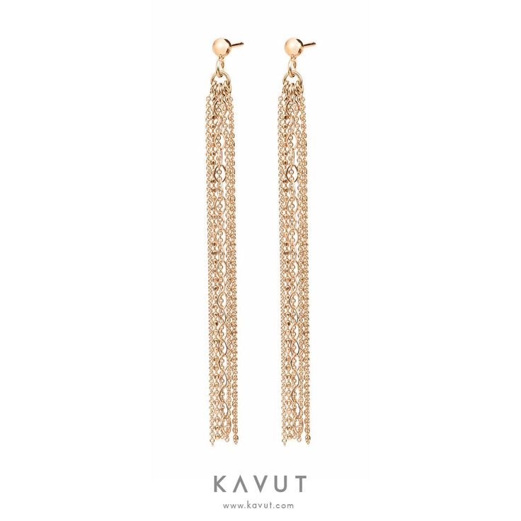 Ginette NY Unchained 18-karat rose gold earrings jeo95q