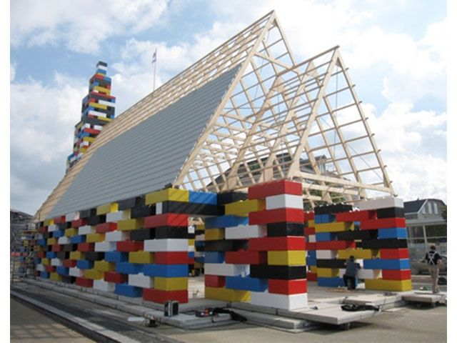 Церковь из Лего, Голландия
