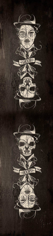 Upside Joke by Gui Soares, via Behance