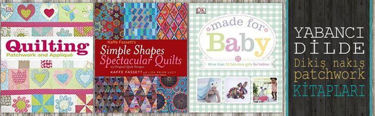 Yabancı dilde el sanatları kitapları goblen.com'da! Dikiş,nakış,patchwork,bebek kitapları..