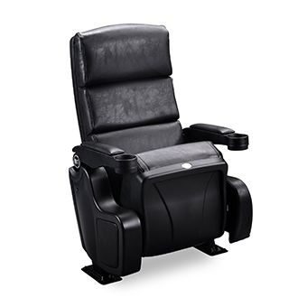 CORELLI: The Corelli Cinema seat is a stylish, well designed, seating option for cinemas and theaters. It features a three panel backrest design for great lumbar support, and high density cold moulded foam for excellent comfort.