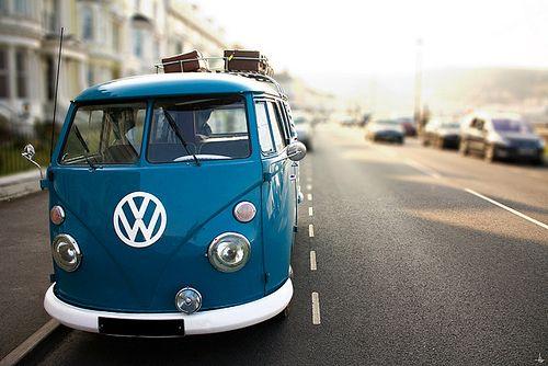VW van  ::  Volkswagen, street, trip