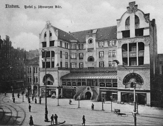 HANNOVER LINDEN Hotel Schwarzer Bär