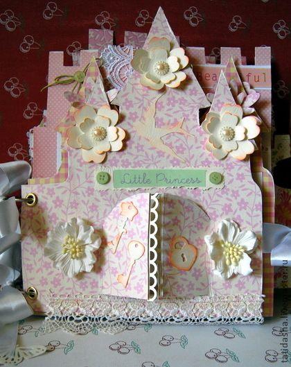 """альбом для маленькой принцессы """"Замок"""" - фотоальбом для девочки,фотоальбом"""