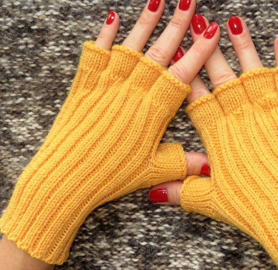 Mejores 24 imágenes de Fingerless gloves en Pinterest | Guantes sin ...