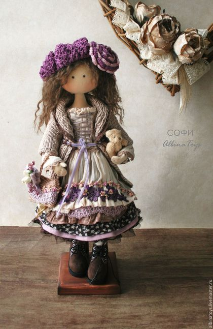 Кукла. Текстильные коллекционные куклы. Бохо куклы. Казань