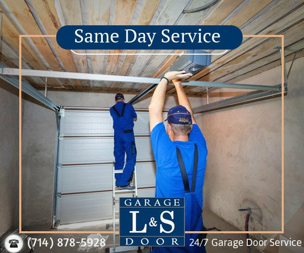 If you are worried about your old garage door, then repair it now to get secured.  L&S Garage Door provides finest service with all kinds of garage door repair and #newgaragedoorinstallation.  Our Major Services: 1. Automatic garage doors 2. Garage Door Openers 3. Garage door panel repairs 4. Broken Springs Our Specialty 5. New Door Sales and Installation 6. Noisy Doors Silenced 7. Part and Accessories 8. Out-of track Doors 9. Broken Cables SAME DAY SERVICE/24X7 SERVICE