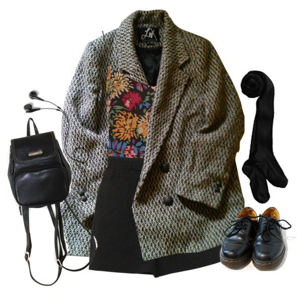 in the afternoon by junk-food on Polyvore featuring мода, Urban Outfitters, Topshop and Dr. Martens