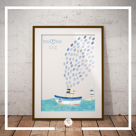 Check out this item in my Etsy shop https://www.etsy.com/uk/listing/552798940/sailing-ship-wedding-guest-book