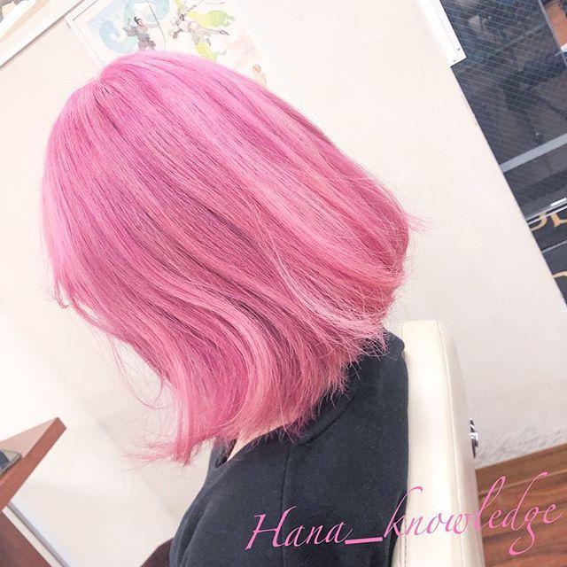 Hana 派手髪師 カラリスト さんはinstagramを利用しています 桜