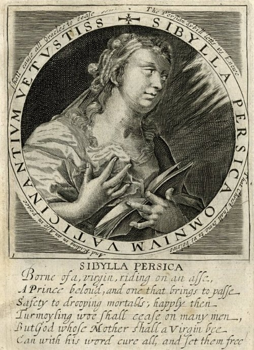 Sibylla Libyca, c. 1620s. From the series XII Sibylla Icones, the prophecies of the twelve sybills.