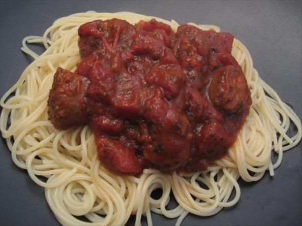 Slow Cooked Spaghetti Sauce | Recipe