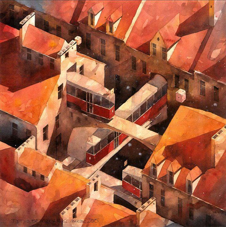 surreal-world-watercolor-paintings-tytus-brzozowski