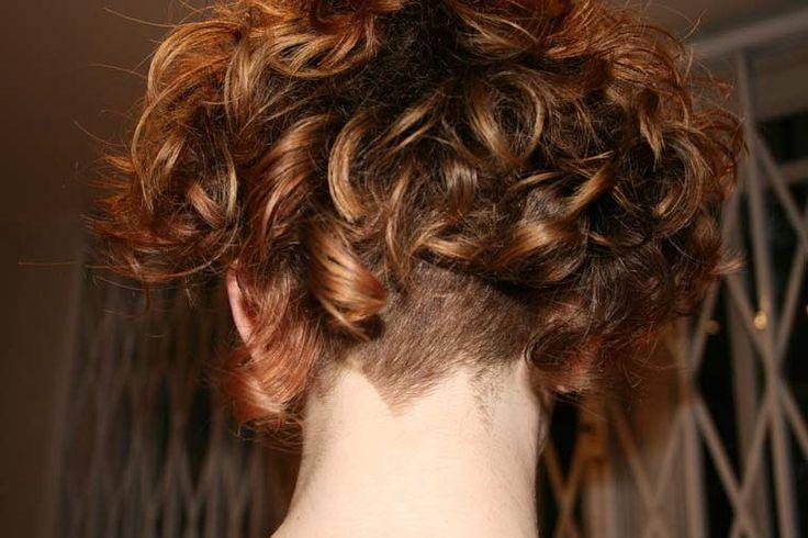 The 25+ Best Curly Undercut Ideas On Pinterest