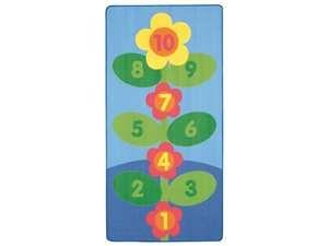 Wesco 42366 42366 Flower Hopscotch Rug 42366 Wesco 42366