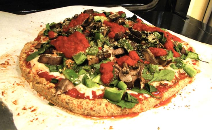 What's for dinner: the best homemade gluten-free pizza I've ever tasted. And it's easy! Tip: raise the oven temperature to 400 and if you have a pizza stone, definitely use it!