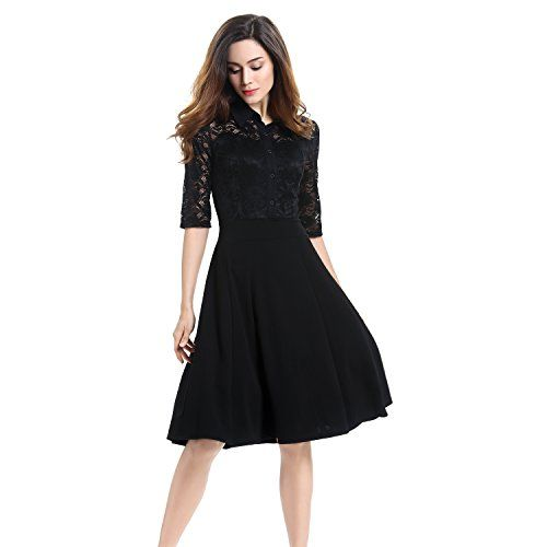 This classic but sexy black lace cocktail party dress is extremely elegant and is designed for girls that want to be just more beautiful. This crossdresser party dress is a sexy A-Line design, knee length with half sleeves – if you want to be understated but classy & chic then this is the dress for you. http://www.crossdressboutique.com/info/lace-cocktail-crossdresser-party-dress-a-line-knee-length-half-sleeve-by-vitalismo/