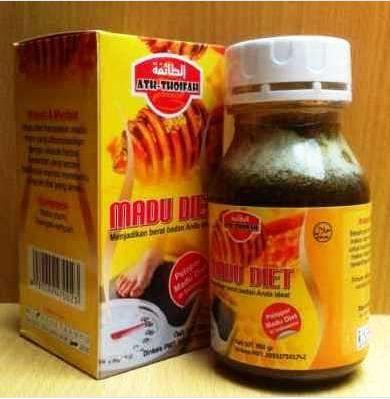 Distributor Madu Diet Ath-Thoifah Murah Jakarta  Khasiat Madu Diet Ath-Thoifah: Membantu mengecilkan perut buncit akibat banyak lemak atau dalam program Keluarga Berencana Mengurangi lemak di paha, pinggul, dan bagian yang berlemak lainnya Melancarkan buang air besar Detox alami & aman dari lemak dan racun penyebab kanker Mengecilkan gelambir di perut bagi wanita yang baru melahirkan Menghilangkan selulit
