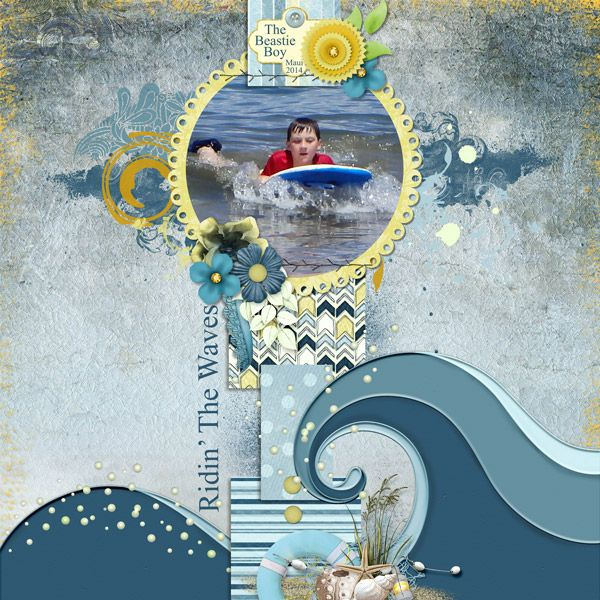This is for Tbear's July 2017 Bluebird Mix and Match Challenge.  I used the posting bonus template, and Beach Waves both by Dae Designs, Lazy Summer by Elizabeth's Market Cross, Walk Along The Water by Kittyscrap , and Summer Cottage by Mamrotka Designs.