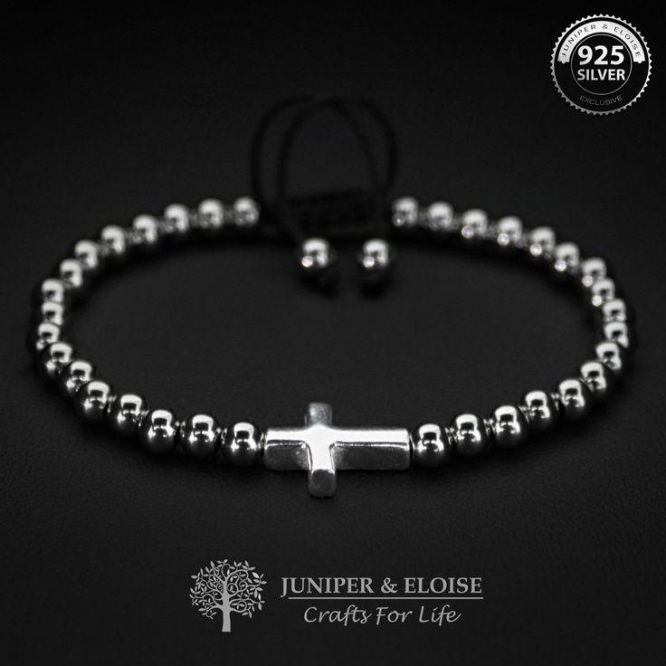 Cross Bracelet Mens Bracelet, Womens Jewelry, Gift Ideas, Christmas Gift, Jewelry For Men and Women, Mothers Day Gift, Christian Jewelry by JuniperandEloise on Etsy
