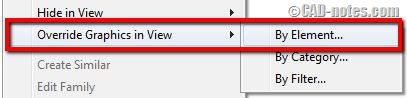 How to fade far objects in Revit elevation view
