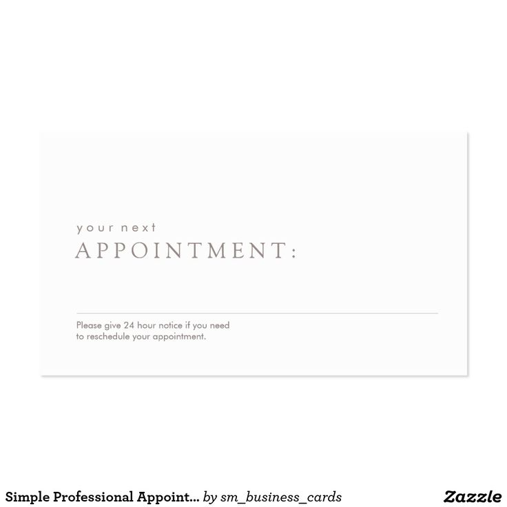 11 best Salon Spa Appointment Business Cards images on Pinterest ...