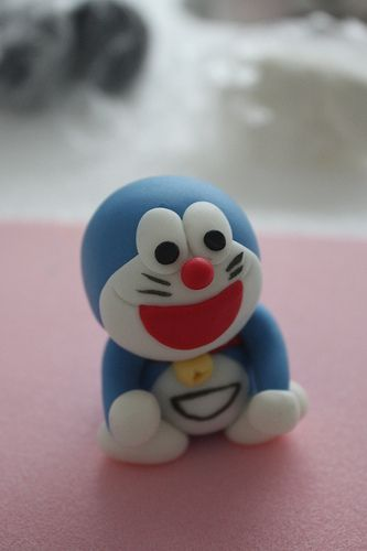 Edible doraemon~ loved him growing up