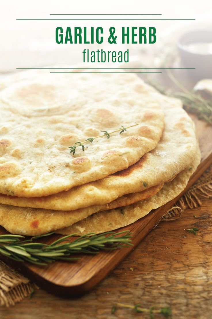 Homemade flatbread is easy to make and can be used in a ton of different dishes. Serve this yummy Garlic and Herb Flatbread recipe at your next family meal. Use garlic, rosemary, thyme, and sea salt to give your flatbread a savory, herb-infused taste. Try pairing this flatbread with homemade hummus or a delicious olive oil bread dip for a bladder-friendly appetizer that your whole family will love.