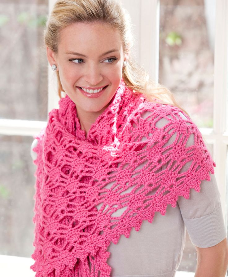 free shawl crochet pattern
