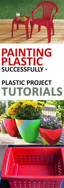 Painting Plastic Successfully- Plastic Project Tutorials