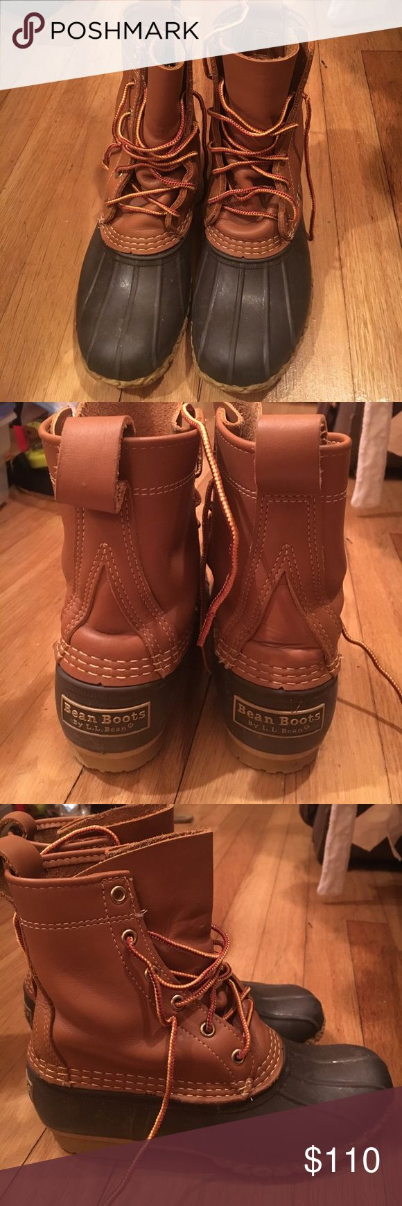 L.L. Bean boots women's size 6/6 1/2 Rarely worn (maybe 3 times). Women's L.L. Bean boots. Don't know exact size but I am a 6 6 1/2. L.L. Bean Shoes Winter & Rain Boots