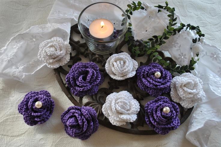 h bsche geh kelte rosen eine sehr sch ne tischdeko oder auch zum aufn hen geh kelt. Black Bedroom Furniture Sets. Home Design Ideas