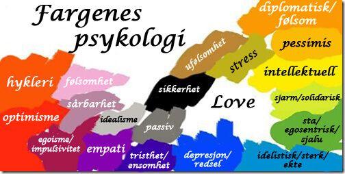 Farger spiller en viktig rolle i vårt hverdagsliv og har innflytelse på våre aktiviteter. Visste du at fargenes psykologi påvirker deg?