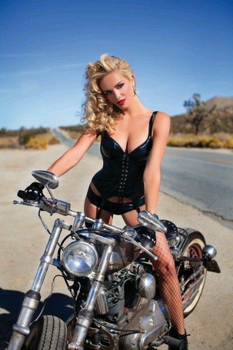Consider, Girls on harley motorcycles think, that