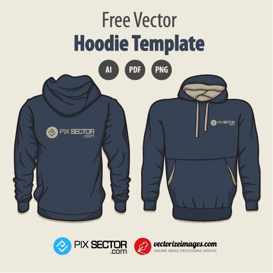 Free hoodie vector template. 1000+ awesome free vector images, psd templates, icons, photos, mock-ups and more!