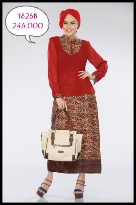 batik ethnic dengan mode peplum yang cantik dan exclusive, cocok banget untuk kamu yang suka banget sama batik