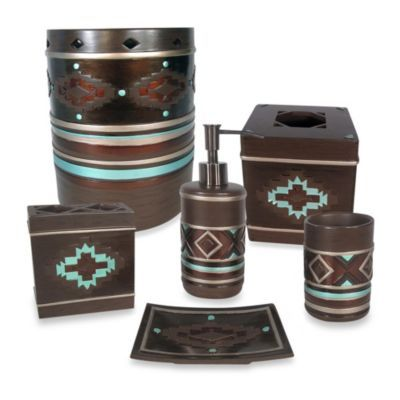 28 best southwestern bathroom accessories images on pinterest