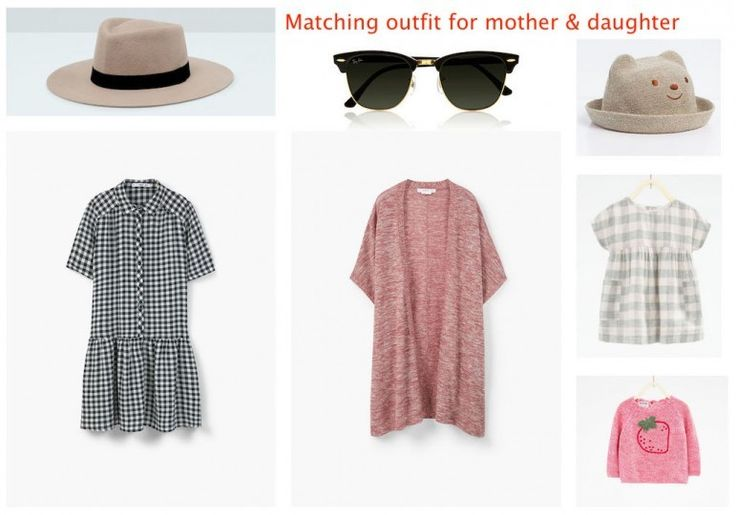 Mother and daughter outfit