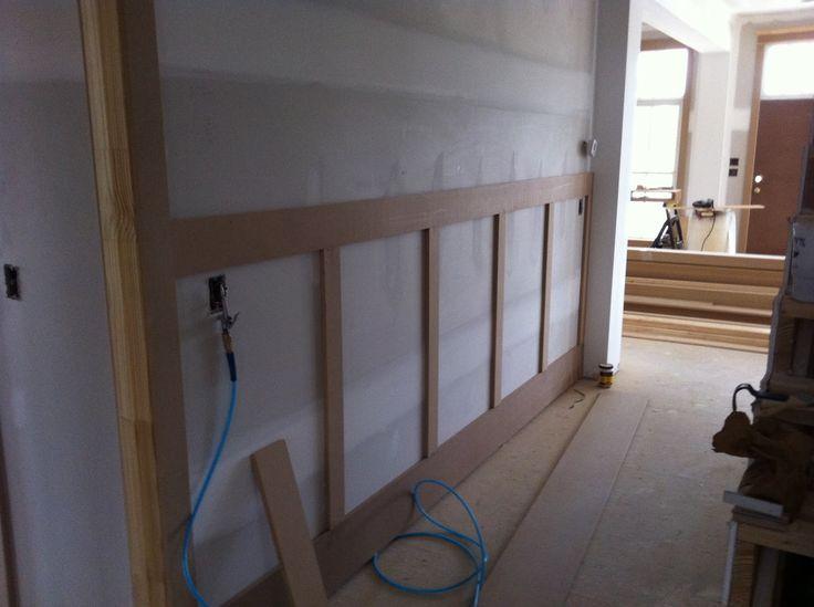hallway panelling ideas google search house ideas. Black Bedroom Furniture Sets. Home Design Ideas