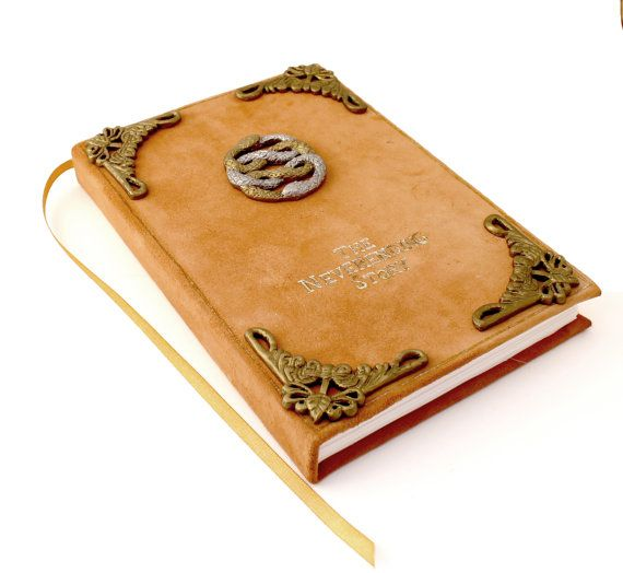 The Neverending Story Book Jewelry Box by CreativeWhimsicality