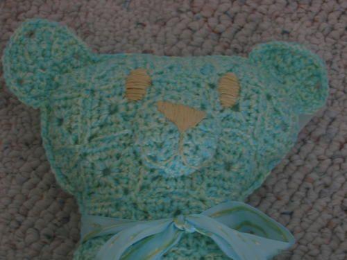 Granny Square Teddy Bear | AllFreeCrochet.com