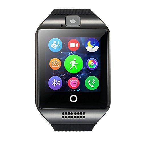 #Smartwatch #Uhr, #DeYoun #� #Bluetooth #Smartwatch #Handy #Uhr #Fitness #Tracker #Armband #Mit #Kamera #Sim #karte / #TF #karte #Slot #Kompatibel für #Android #Samsung #Galaxy #S6/S5 #HTC #Sony #LG #Huawei #Nexus #IPhone #IOS #[ #Tlweise #Fnktionen #]and