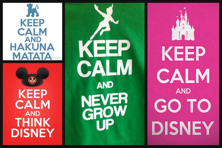 Keep Calm and Disney Iron On Transfers.... The by BananaBelle23, $10.00