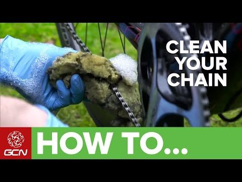 How To Get A Perfectly Clean Chain - GCN's Top Tips For Cleaning Your Drivetrain - YouTube