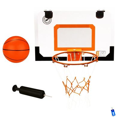 basketbalbord mini compleet met ring - bal - pomp new port